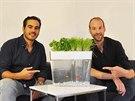 Ignacio Lopez a Alex Konijnenburg se svým ekosystémem