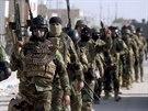 Irácké bezpečnostní síly v Bagdádu (19. listopadu 2014).