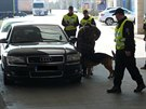 Při odhalování nelegálních migrantů pomáhají českým policistům i psi.
