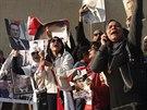 P��znivci Mubaraka po ozn�men� verdiktu soudu propukli v j�sot (29. listopadu)