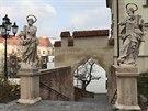 Jedno znejromantičtějších míst moravské metropole. Cesta ke katedrále svatých Petra a Pavla na Petrově.