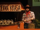 Slavnostn� p�ed�v�n� K�i���lov� lupy 2014 - Cen �esk�ho internetu se letos neslo v duchu trempsk� t�matiky (Praha, 20. listopadu 2014)