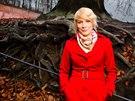 Kristýna Kočí při fotografování pro páteční magazín TÉMA