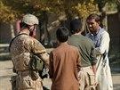 """Komunikace s m�stn�mi obyvateli byla d�le�itou sou��st� operace """"Hungry Lion"""" v okol� afgh�nsk�ho Bagr�mu"""