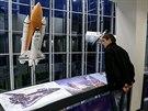 Tvůrci nové podoby ostravského planetária s hvězdárnou neopomenuli ani lety raketoplánů. (26. listopadu 2014)