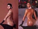 Z Kim Kardashianové si udělali legraci Nick Jonas, Miley Cyrusová a udělali z ní i sněžné dělo.