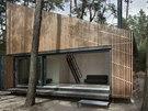 FAM Architekti, chata u Máchova jezera