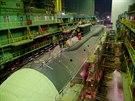 Nová jaderná ponorka Alexandr Něvský  v loděnici Sevmaš