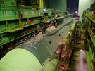 Nov� jadern� ponorka Alexandr N�vsk�  v lod�nici Sevma�