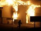 V americk�m Fergusonu op�t vypukly nepokoje.