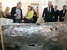 V Muzeu Komenského otevřeli novou výstavu Zkáza z nebes, která zachycuje bombardování města i leteckou bitvu nad Přerovem a okolím před 70 lety. K vidění jsou i trosky letounu B-24 Liberator.