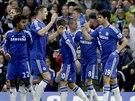Gólová radost fotbalistů Chelsea