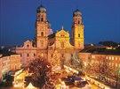 Vánoční trhy v centru Pasova začínají v pátek 21. listopadu.