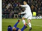 VYROVNAL RAÚLA. Cristiano Ronaldo z Realu Madrid se právě stal druhým nejlepším střelcem v historii Ligy mistrů.