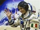 Samantha Cristoforettiová je první Italkou, která se dostala na ISS.