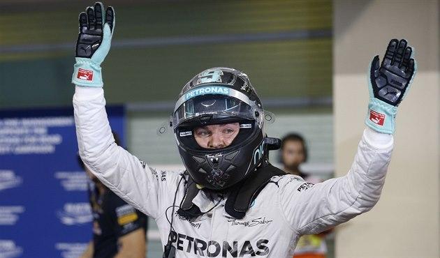 SPOKOJENÝ. Nico Rosberg vyhrál v Abú Zabí kvalifikaci. Povede se mu i v...