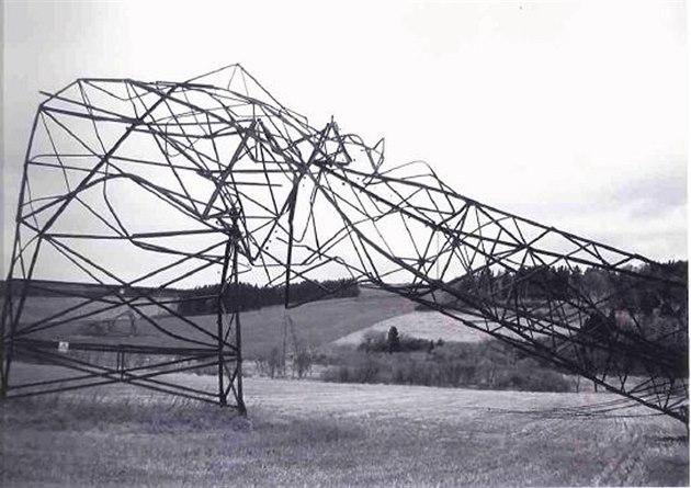 havárie vedení 400 kV