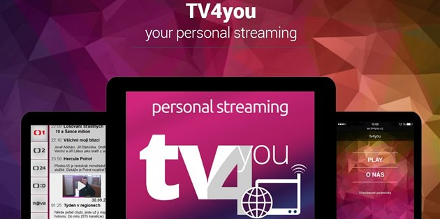Slu�ba TV4you streamuje televizní vysílání do mobilních za�ízení.