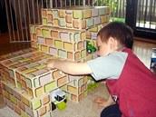 Obří stavebnici Cihličky obdivují děti i odborníci
