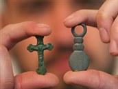 Mezi odkrytými nálezy byly i drobnosti.