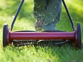 P�ed zimou má málokdo ostrou seka�ku, a� by práv� toto bylo pro trávu nejlep�í.