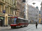 Vcelé republice jezdí tramvaje, jenom vBrn� mají svou �alinu. Slovo je...