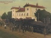 Do Hlinska lokomotivy poprvé dorazily v roce 1871.
