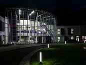 Hv�zd�rna a planet�rium v Ostrav� se po dvoulet� n�ro�n� rekonstrukci v ned�li otev�e ve�ejnosti. (26. listopadu 2014)