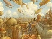 Obálku sborníku �eských steampunkových povídek nazvaného Excelsior,...