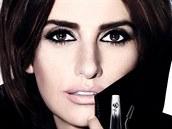 Reklamní vizuál na řasenku Grandiôse Mascara Effet Cils Déployés od Lancôme s herečkou Penelepe Cruzovou