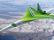 Návrh nadzvukového dopravního letounu N+2 společnost Lockheed Martin.