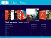 Aplikace Album Flow bude p�ehr�vat va�e hudebn� alba v prost�ed� virtu�ln�ho jukeboxu.