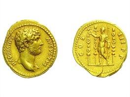 Hadrianus, 117 – 138, Aureus, 132 - 134, Rv: COS III PP - vyvolávací cena 180.000