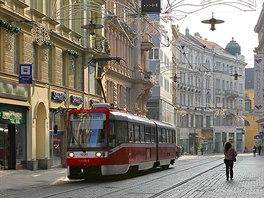 V cel� republice jezd� tramvaje, jenom v Brn� maj� svou �alinu. Slovo je...