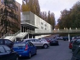 Vizualizace nov�ho multifunk�n�ho sportovn�ho komplexu na Veleslav�n�