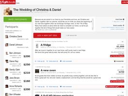 Ukázka aplikace GiftDoodle