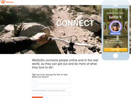 Webová prezentace WeGoDo