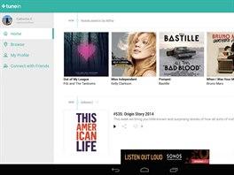 TuneIn Radio má ve verzi pro Android Material Design a podporu pro Chromecast