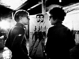 Bob Dylan a Andy Warhol