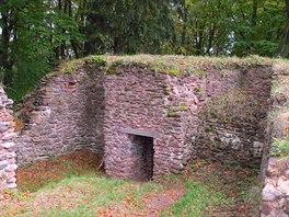 Z��cenina hradu B�ec�tejn