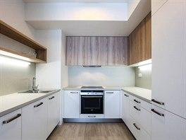 Linka je dostatečně prostorná a splňuje všechny nároky moderního vaření.