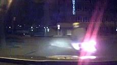 Policie honila �idi�e ukradeného skútru. (23. listopadu 2014)