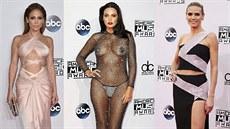 Jennifer Lopezová, Bleona a Heidi Klumová na American Music Awards