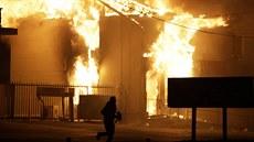V americkém Fergusonu op�t vypukly nepokoje.