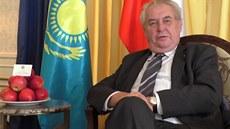 Ukrajina by podle Zemana nem�la být v NATO. Nabízí jí finlandizaci