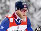 Norský běžec na lyžích Mats Sundby v závodě na 15 km klasicky ve finské Ruce.