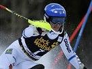 Švédská lyžařka Frida Hansdotterová skončila druhá ve slalomu Světového poháru v Aspenu.
