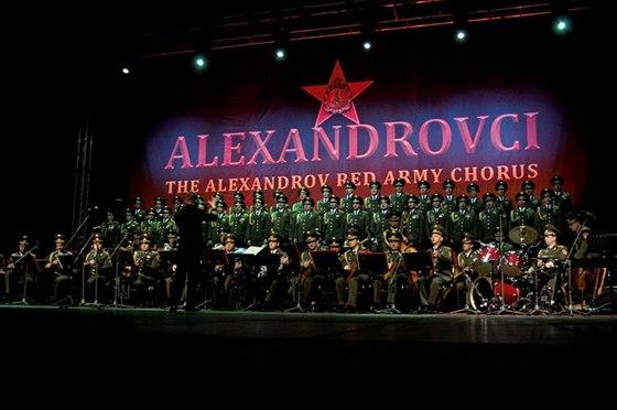 Velkolep� tour Alexandrovci v r�mci 70. v�ro�� konce II. sv�tov� v�lky