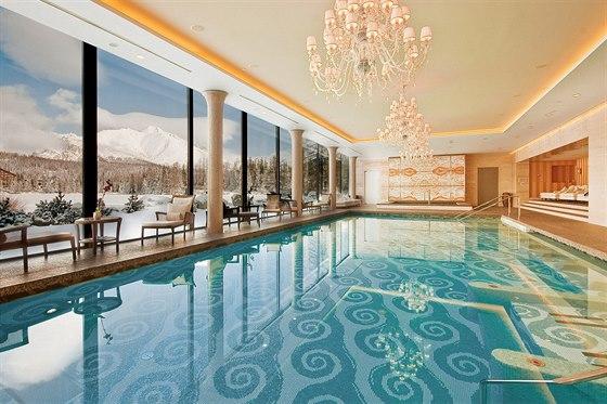 Zimn� odpo�inek pln� luxusu v obklopen� tatransk� p��rody