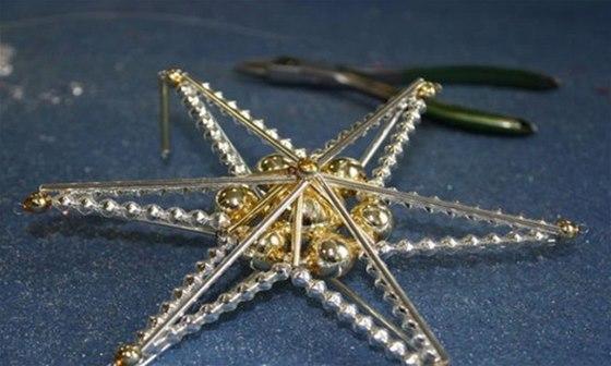 Perličkové ozdoby byly u nás vánočním hitem před první světovou válkou